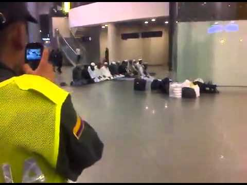 Moslims respected in airport colombia