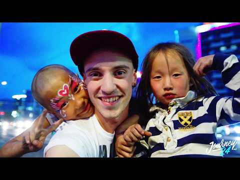 KIDS JUMP ON ME IN MONGOLIA