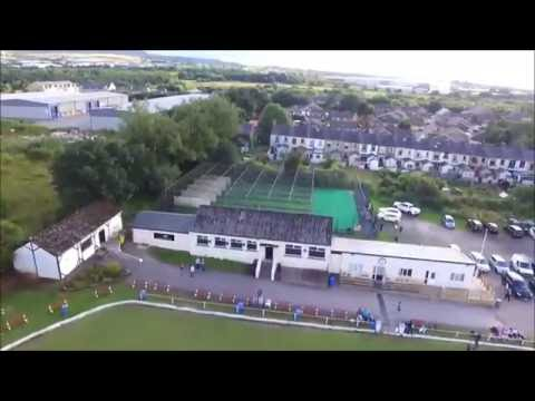 SNEAK PEAK: Lowerhouse Cricket Club by Air!