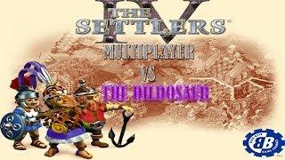 Settlers 4 - Multiplayer Vs The Dildosaur - Part 1