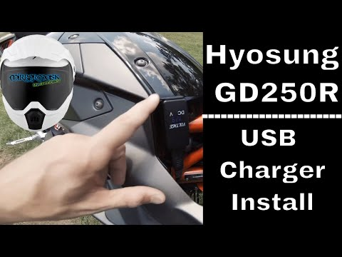 hyosung-gd250r-usb-charger-install