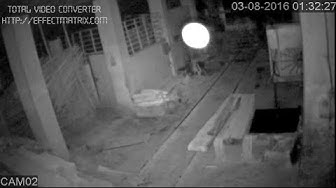 Ghost   Spirit   Paranormal Activity Captured on CCTV Camera   Dancing Apparition