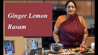 Lemon Rasam - இன்ஜி எலுமிச்சம்பழ ரசம்