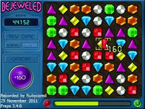 [OLD] Bejeweled 1 (PC) Timed - 227,205 at Level 22