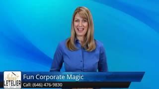 NY Corporate Party Magician - Close-Up Magic New York