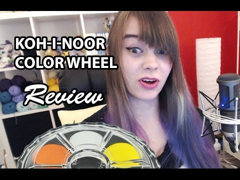 Koh I Noor Water Color Wheel Review Youtube
