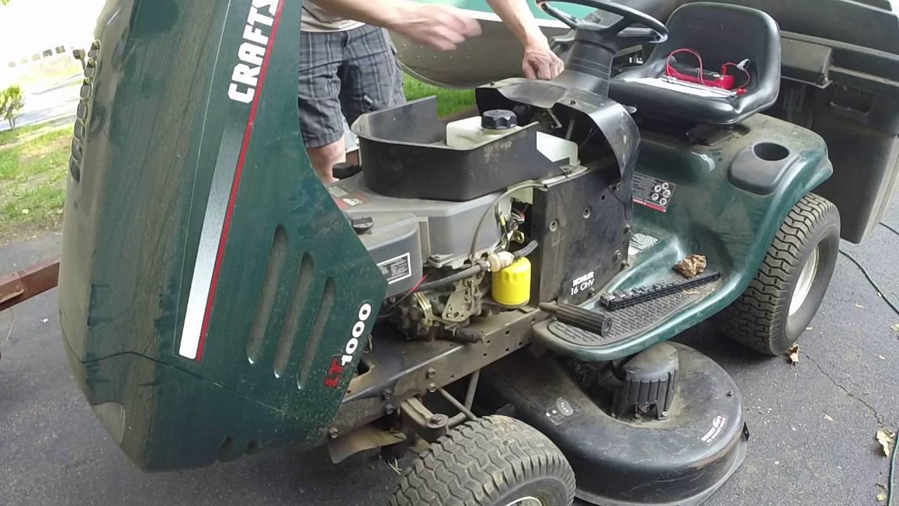 Kohler Lt1000 Wiring Schematic What The, Craftsman Lt1000 Lawn Tractor Wiring Diagram