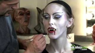 Vampire Makeup - Finishing the Look