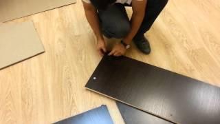 видео Прихожая Мелисса 1-3 Дуб Венге – комбинированный, купить. Фирменный интернет магазин мебель Лером в Москве