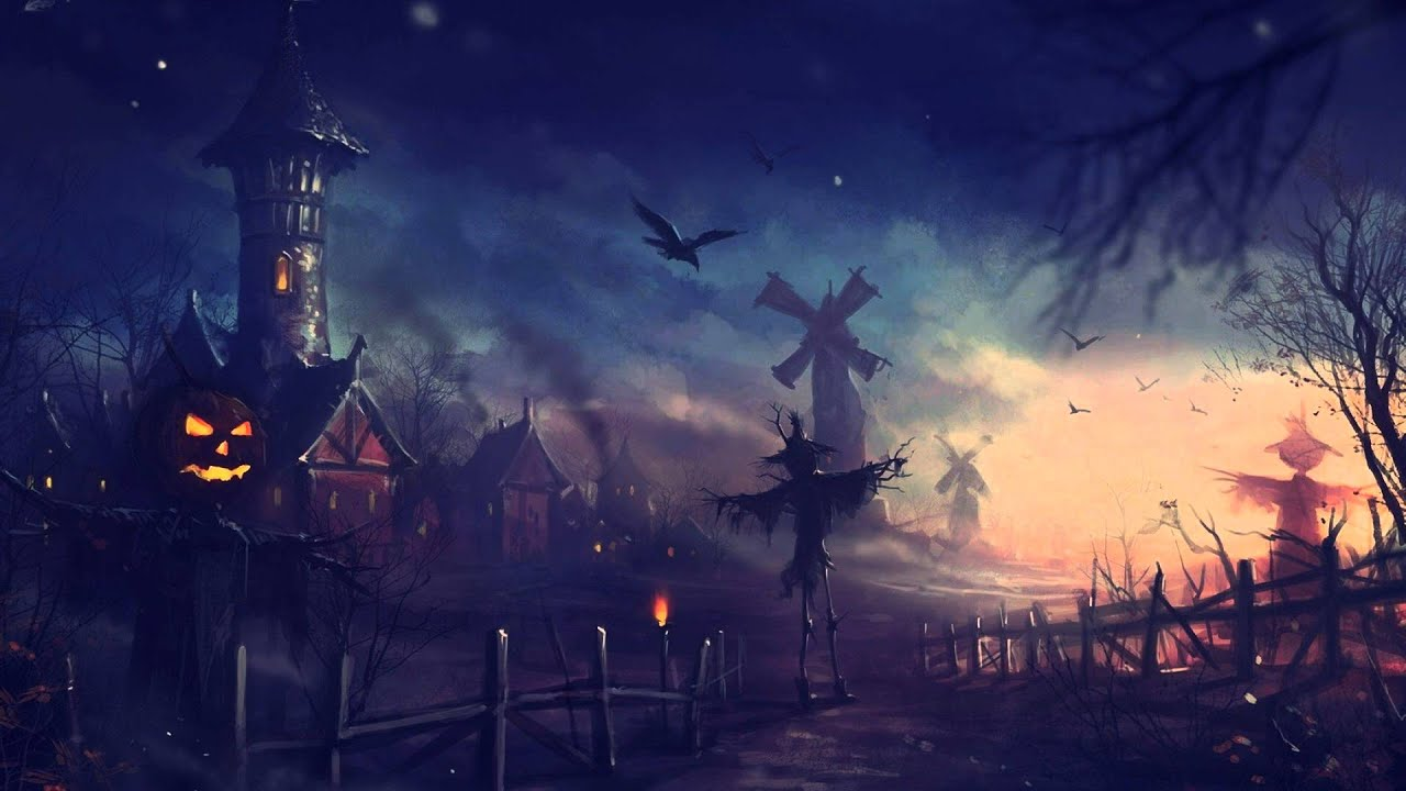 Pack 20 Imágenes Hd Anime Halloween Wallpapers ᴴᴰ Youtube