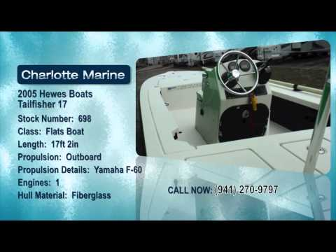 2005 Hewes Boats Tailfisher 17