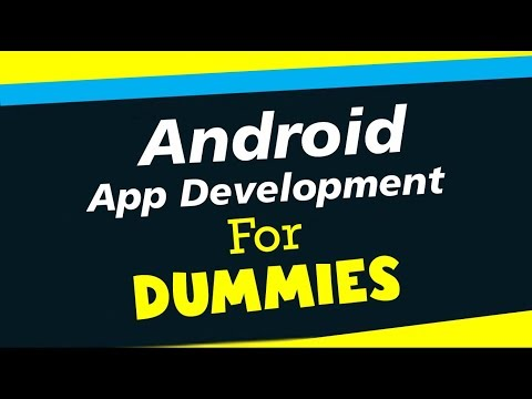 Android App Development For Dummies | Create Your First APP