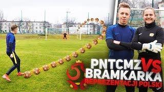 Bramkarka reprezentacji Polski VS PNTCMZ! | Pojedynek