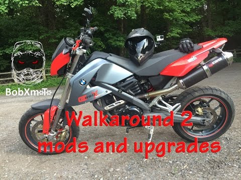 BMW G650 Xmoto Walkaround Part 2 after upgrades