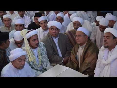 Akad Nikah Habib Hanif Al Athos, Mantu Habib Rizieq bin Syihab,  Milad FPI 18 di Markaz Syariah
