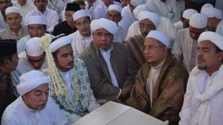 Akad Nikah Habib Hanif Al Athos Mantu Habib Rizieq bin Syihab Milad FPI 18 di Markaz Syariah
