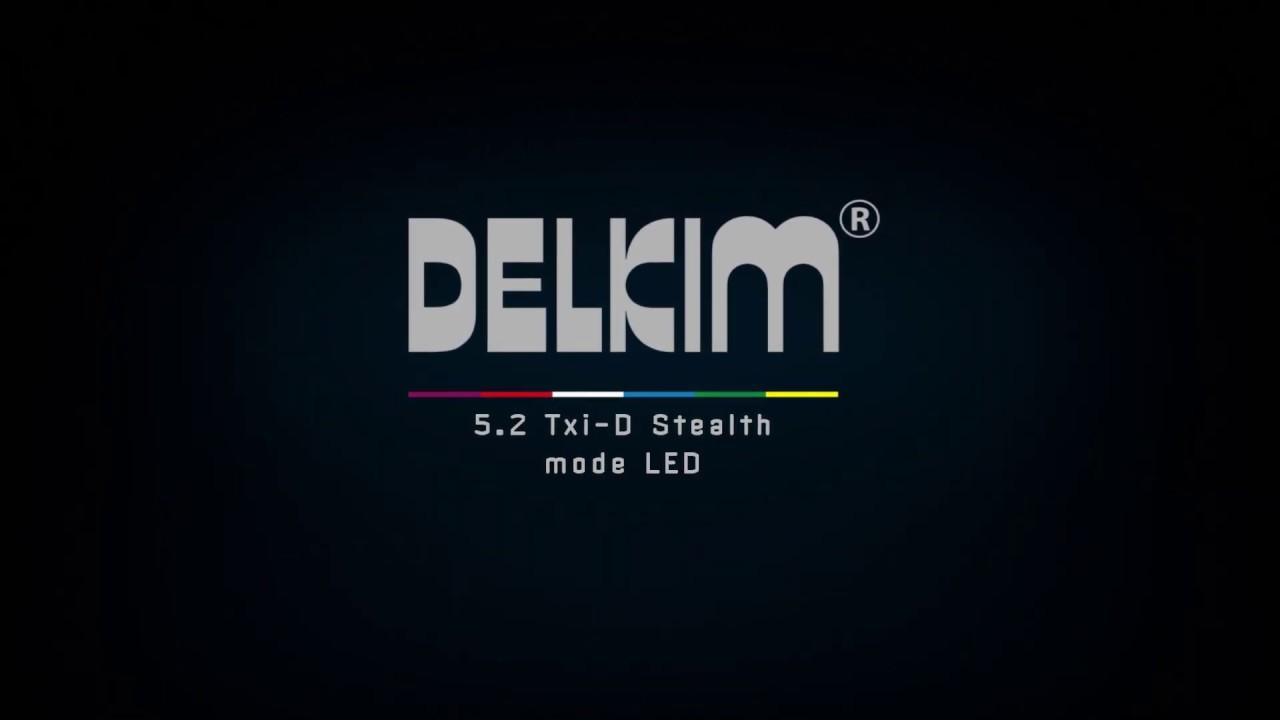 White Delkim ES Indicator Set