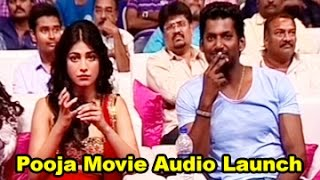 Pooja Movie Audio Launch || Vishal || Shruti Haasan || 02