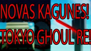 ROBLOX Kyoto Ghouls: NEW STUFF! NEW KAGUNE FROM TOKYO GHOUL RE! #NARUTO10K