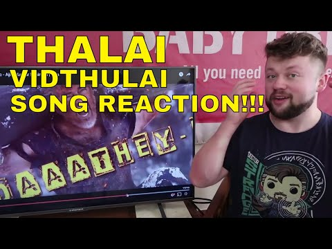 THALAI VIDUTHALAI Vivegam Song Reaction!!!