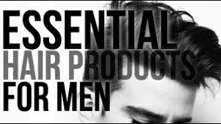 MY HAIR PRODUCT ESSENTIALS -  TOP FAVORITES FOR MEN | JAIRWOO