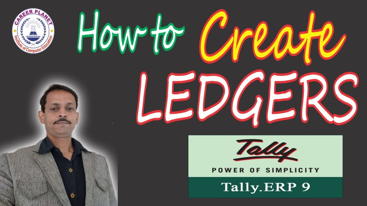 How to Create Ledgers in Tally ERP 9 Day 5  Hindi    ledger creation     How to Create Ledgers in Tally ERP 9 Day 5  Hindi    ledger creation in  tally erp 9