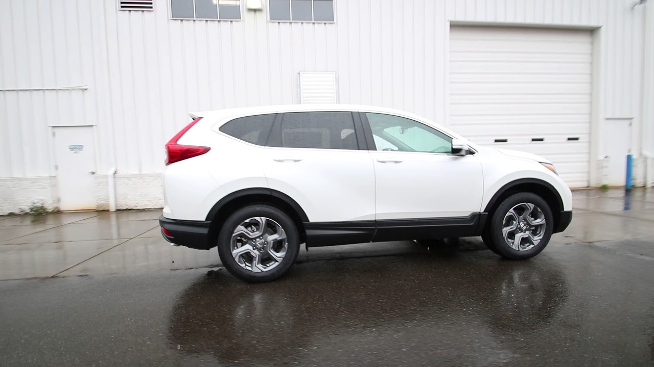 Download 2018 Honda CR-V EX-L   White Diamond Pearl   JH617761   Seattle   Sumner  