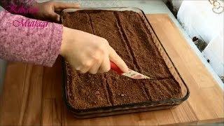 Kumlu pasta tarifi - Islak kek tadında kumlu pasta nasıl yapılır - Kek ve pasta Tarifleri