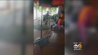 Violent, Racist Rant Outside WeHo Grocery Store Caught On Camera