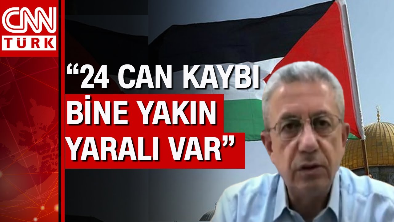 İsrail'in kanlı saldırıları nasıl durdurulur? Filistinli lider CNN Türk'te anlattı