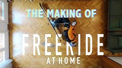 HOW I WENT VIRAL IN 2020 - The Making Of Freeride Skiing at Home