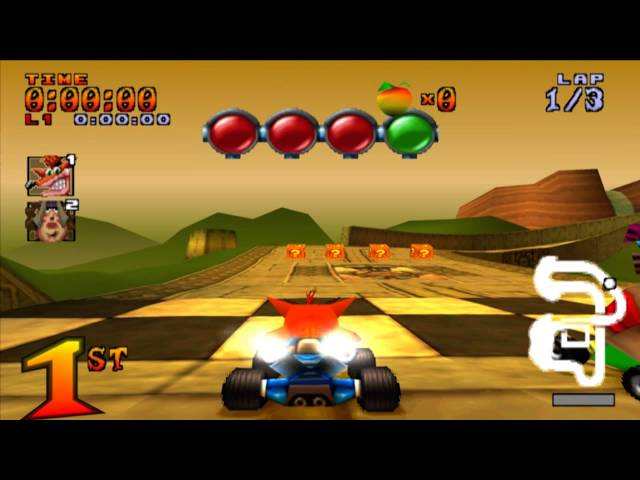 Crash Team Racing // Ps1 // Aventura #3