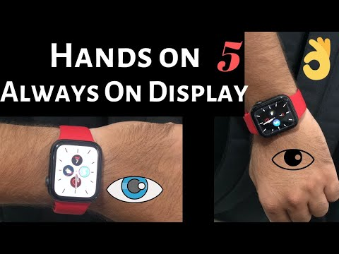 How To Turn On/Off Always On Display On Apple Watch 5: From Apple Watch Or Using IPhone