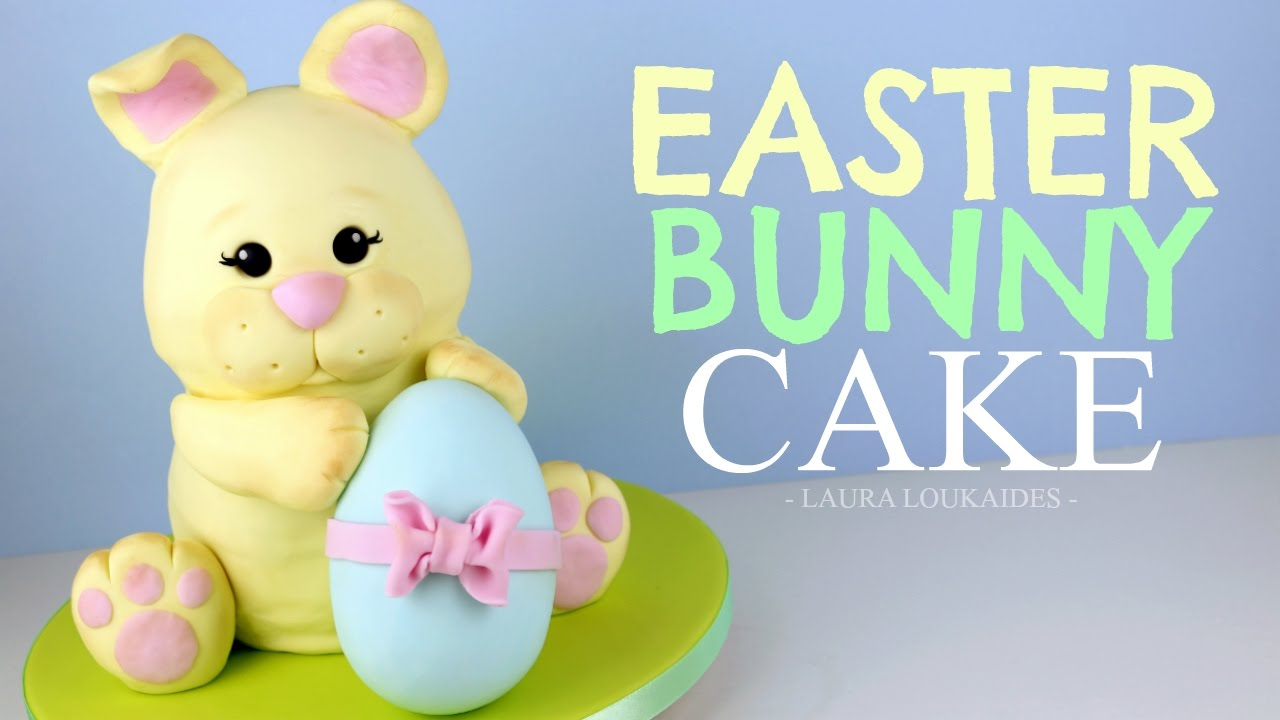 How To Make A 3d Easter Bunny Cake  Laura Loukaides