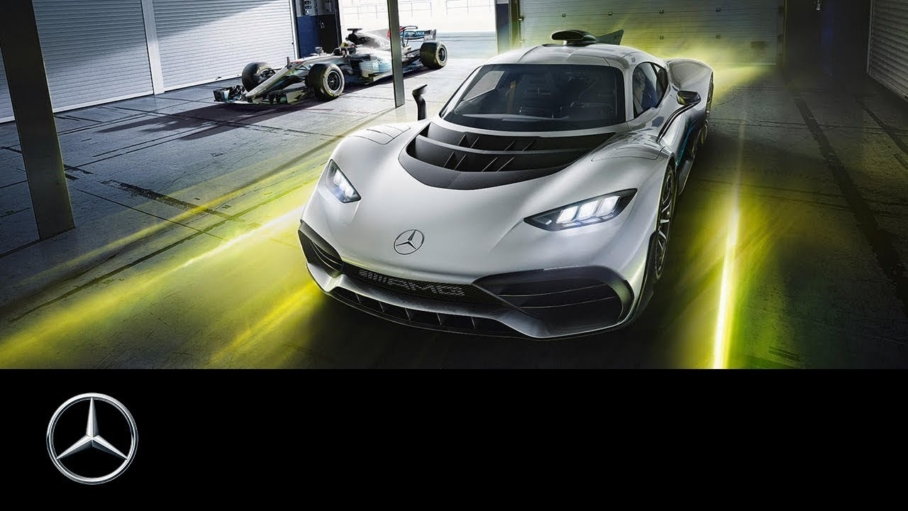 mercedes-amg project one | la auto show 2017 - youtube