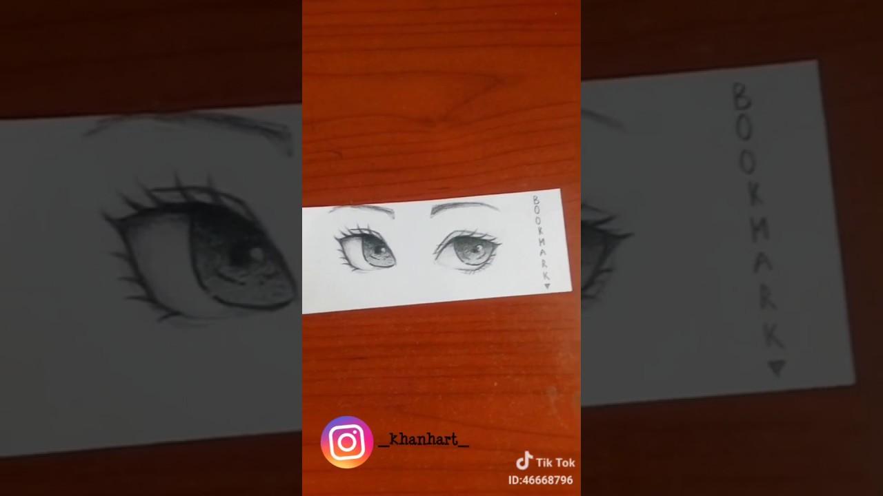 Cách vẽ mắt đơn giản chỉ trong 10s