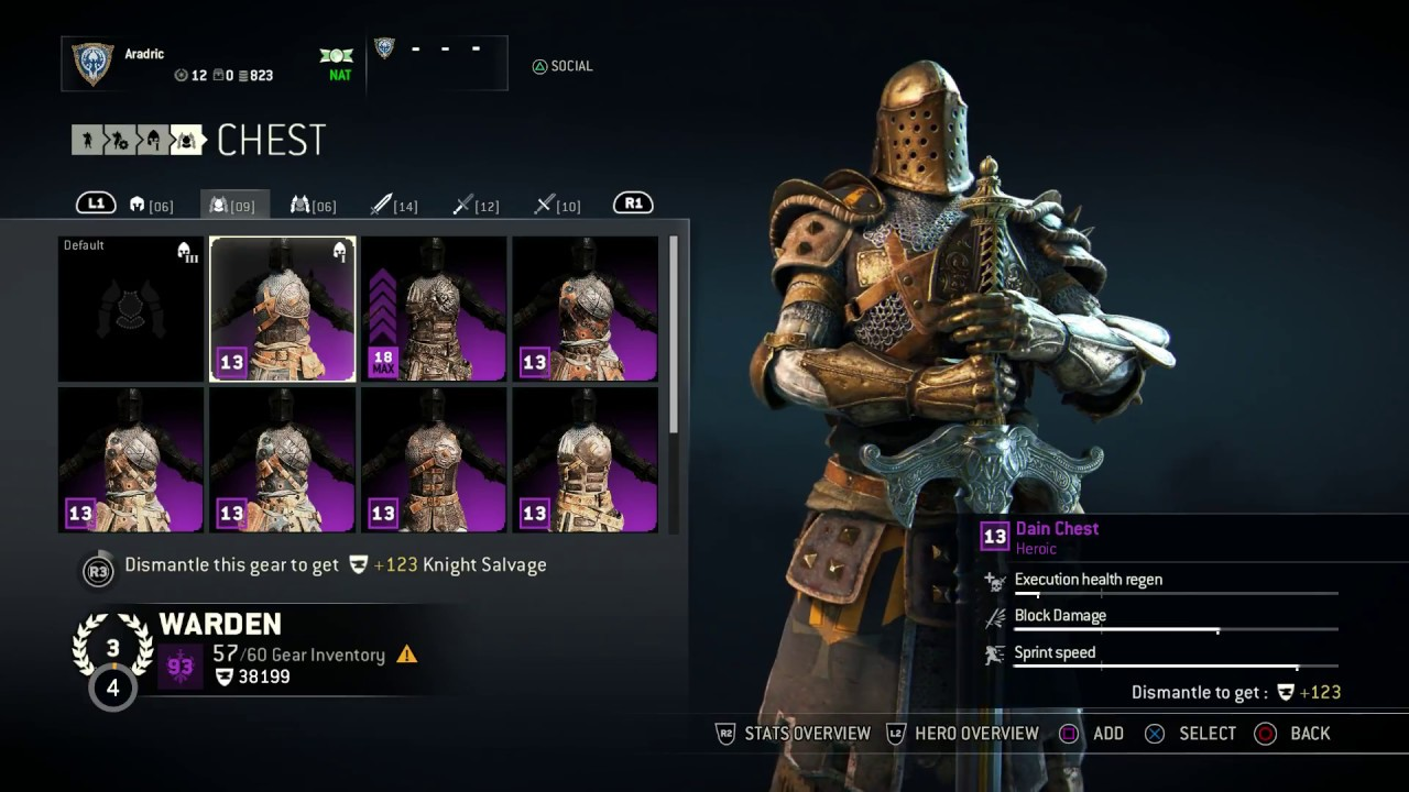 for honor how to open chest