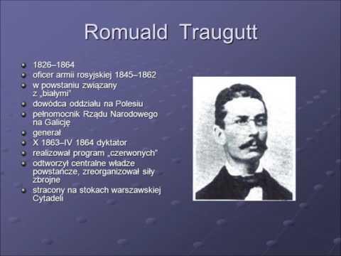 Historyczne spory   Romuald Traugutt