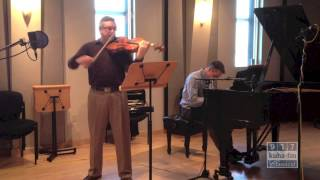Aperio performing Allegro moderato from George Rochberg