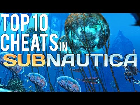 TOP 10 MOST USEFUL CHEATS IN SUBNAUTICA!