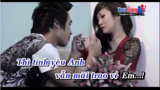 Xin Đừng Cách Xa karaoke moi feat Nam