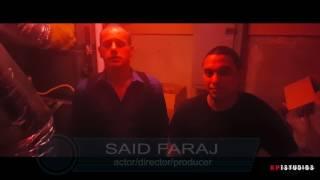 Behind the Scene-Said Faraj and crew