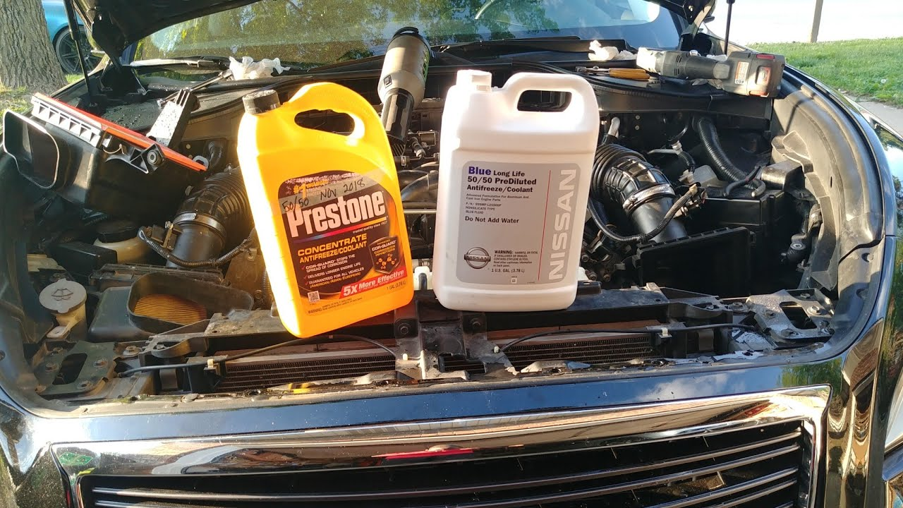 Engine Coolant Color