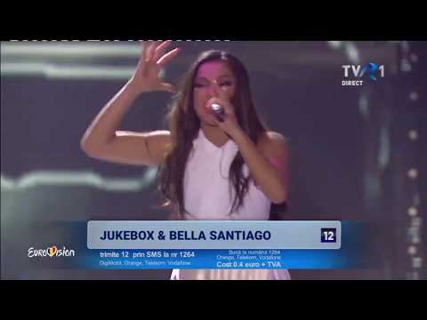 Jukebox feat Bella Santiago - Auzi cum bate | Finala Eurovision România 2018