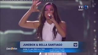 Jukebox feat Bella Santiago - Auzi cum bate Finala Eurovision Romania 2018