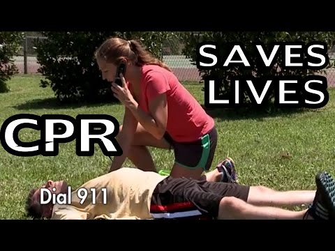 Compression Only CPR - How To Do CPR - Effectively Save Lives!