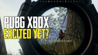 PUBG Xbox One | Excited For New Features? (Playerunknown's Battlegrounds)