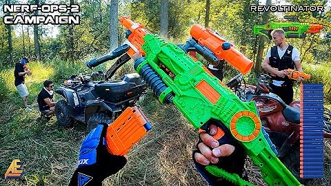 NERF OPS CAMPAIGN | MISSION 2 (Nerf First Person Shooter!)