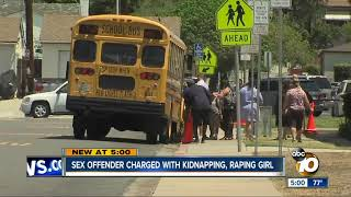 Sex offender charged with Oak Park kidnapping, raping girl