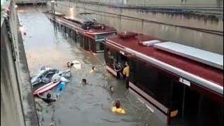 Se Inunda Tren Ligero, Por Tormenta en Guadalajara..🔘✔